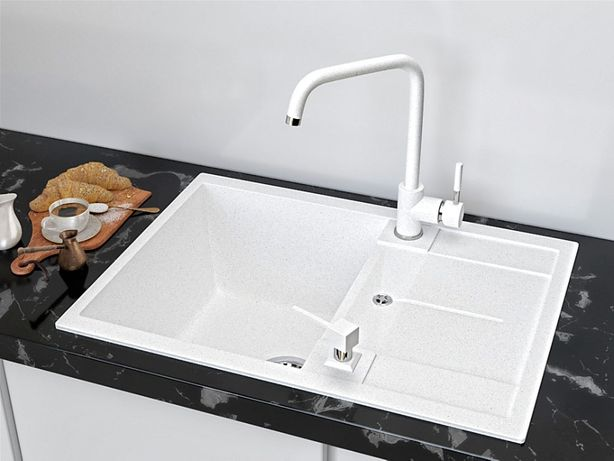 Кухонная Гранитная Мойка Askania Napoli Compact, без посредников