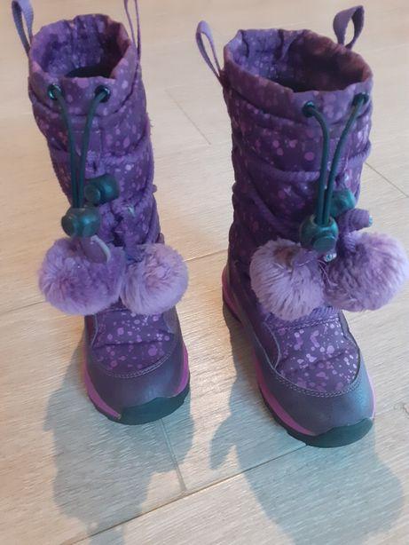 Зимние сапожки для девочки Geox