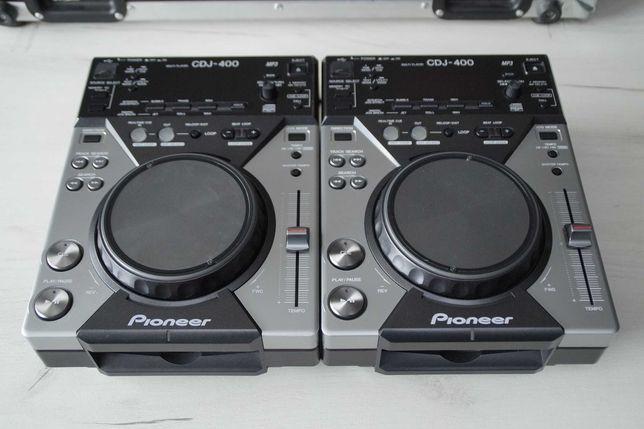2 x Pioneer CDJ 400 Idealne Gwarancja Skup Zamiana DJM 250/300/350/700