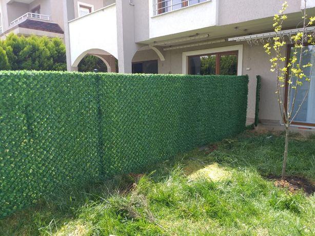 Забор декоративный, Зеленое ограждения, Альтернатива живому забору