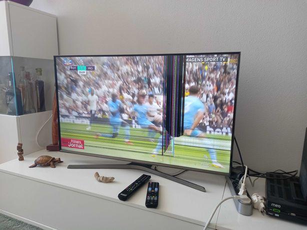 "Smart Tv samsung 43"" full hd ecrã avariado"