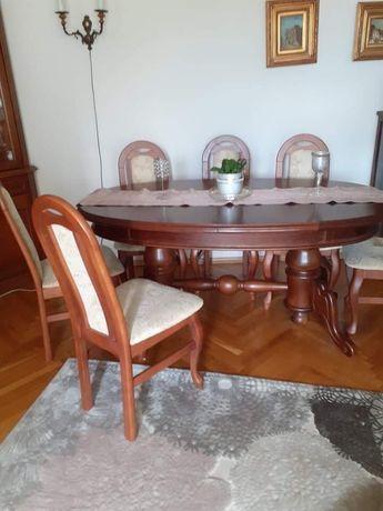 Meble jadalniane stół i krzesła