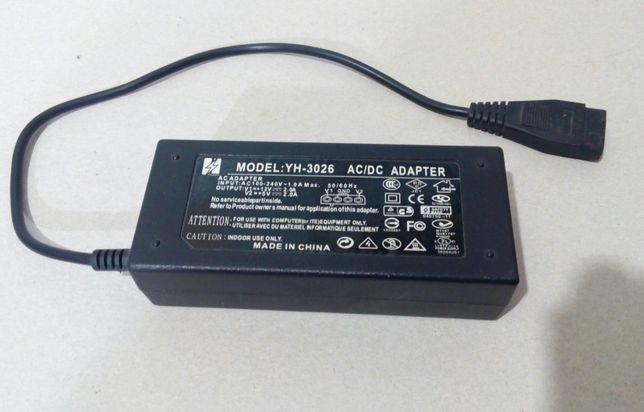 Блок питания 12V 2A / 5V 2A YH-3026 для HDD IDE SATA, Molex
