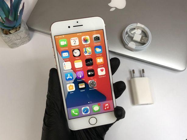 IPhone 7 128gb rose, ідеальний стан, повний комплект, гарантія