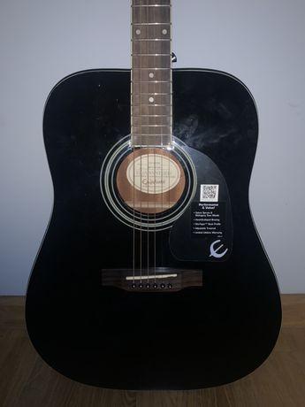 gitara akustyczna epiphone DR 100 eb KOMPLET poczatkujacy