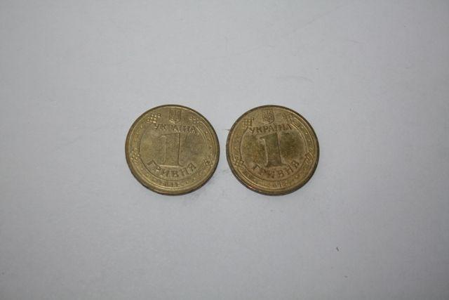 Монети 1 гривня Євро 2012 Уєфа Фінальний турнір чемпіонату з футболу