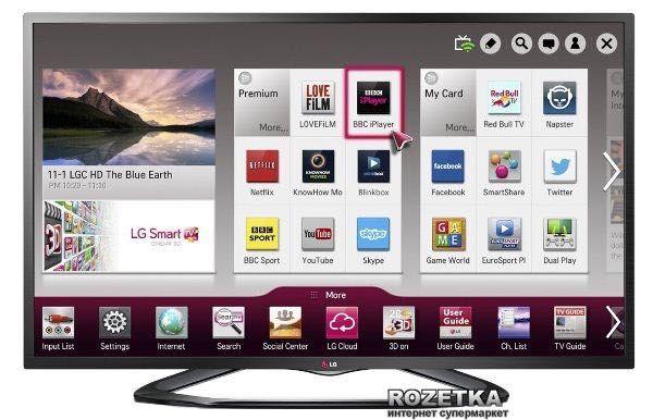 Smart Телевизор LG 42LN575V