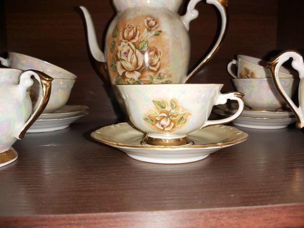 Zestaw kawowy - porcelana Chodzież