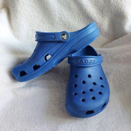 Сабо кроксы crocs m4 w6 36p синие