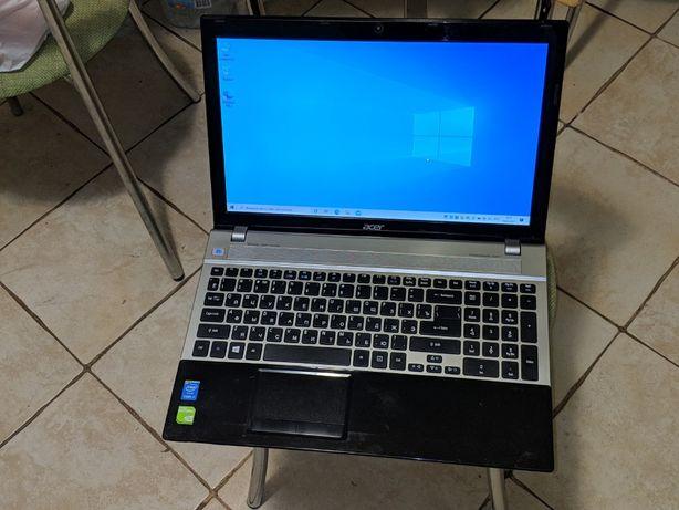 Топовый Acer  intel Core i7 3612QM Geforce 640 Мощный Ноутбук