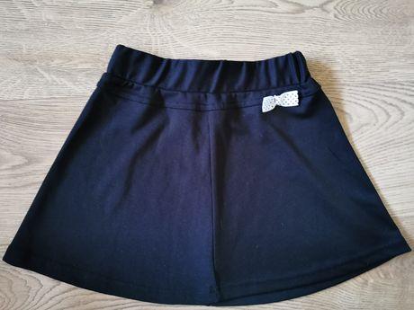 Spódniczka C&A rozm. 116/122 galowa czarna elegancka strój galowy