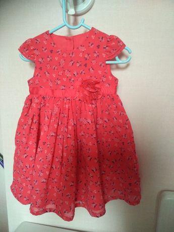 Платье для девочки 12 месяцев
