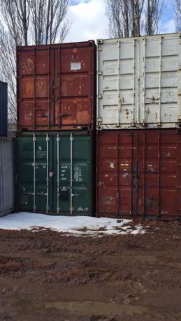 Морской контейнер 40 футов. В наличии 5 шт.