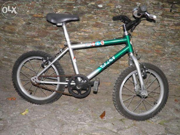 Bicicleta btt roda 16 para crianças