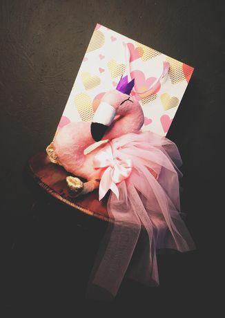 Мягкая игрушка Розовый Фламинго