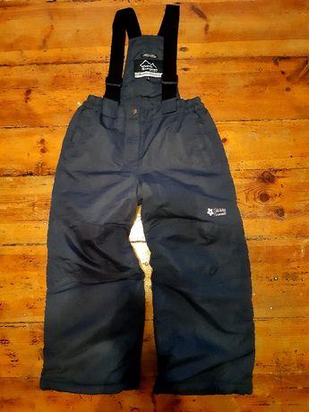 116 spodnie narciarskie granatowe