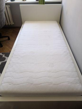 Łóżko ikea (malm), z materacem