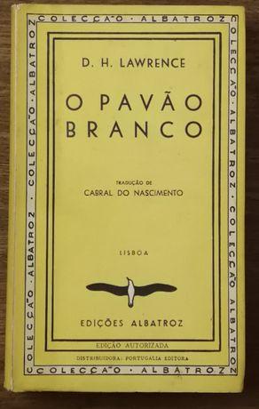 o pavão branco, d.h. lawrence, edições albatroz