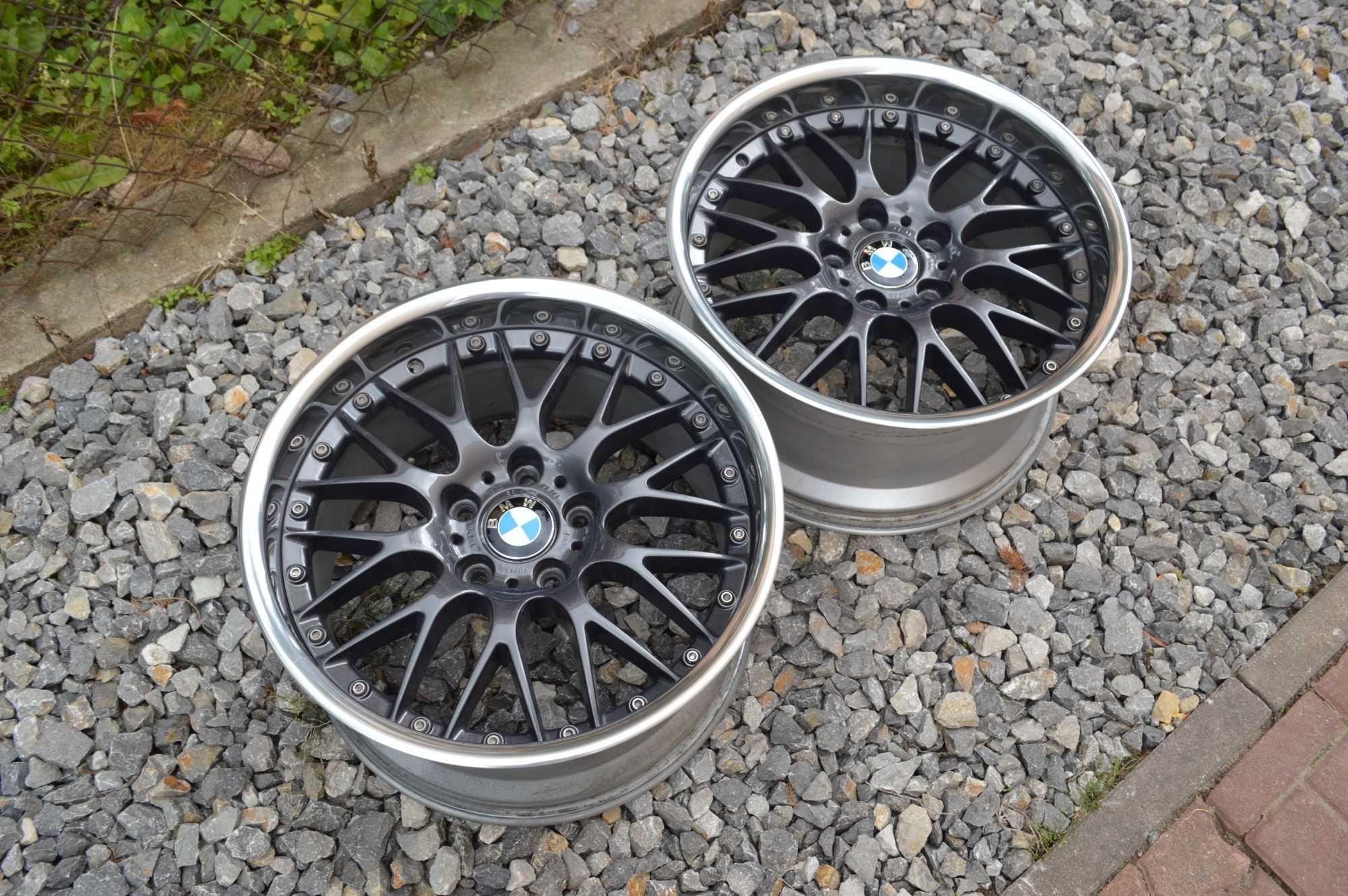 """2x BBS RS 743 9.5J IS25 18"""" BMW 5x120 Styling 42 1300zł/sztuka"""