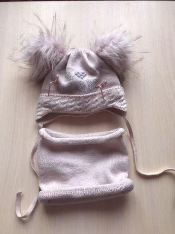 Шапочка зимова шапка зима