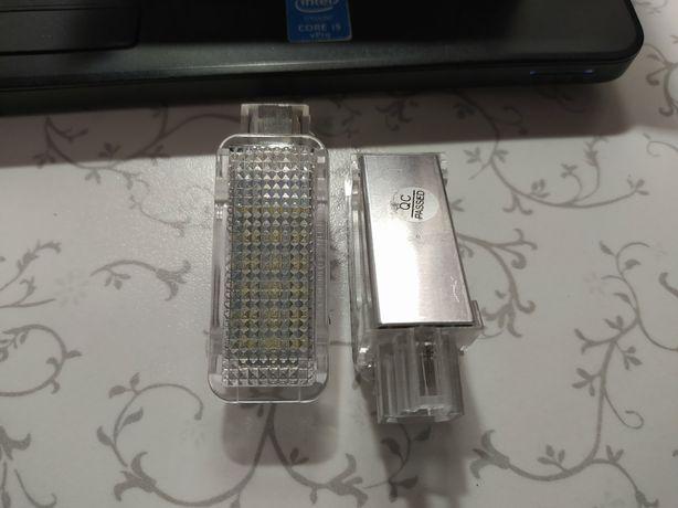 LED светильник подсветка багажника octavia rapid superb passat плафон