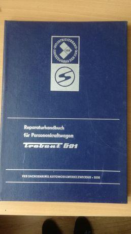 Książka napraw Trabant 601