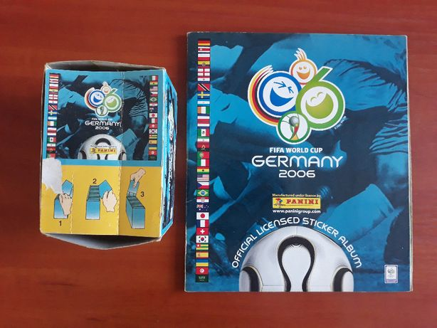 Albumy piłkarskie firmy Panini-Champions League, Euro, World Cup itp.
