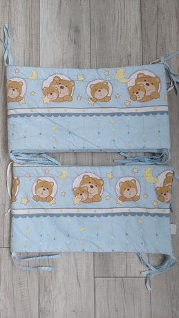 Бортики, защита в детскую кроватку
