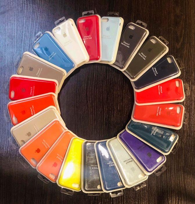 Apple Silicone Case do Iphone 7/8 Rózne kolory , Wysyłka , SKLEP Katowice - image 1