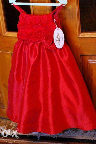 Красное платье Dress to Impress. (на 3,4 года)