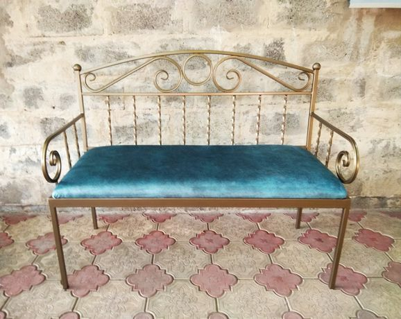Кованый диван (под заказ)