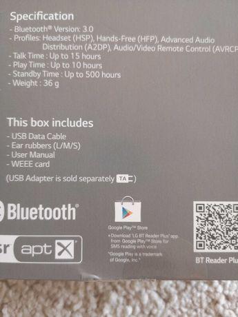 LG Bluetooth Stereo Headset HBS-750