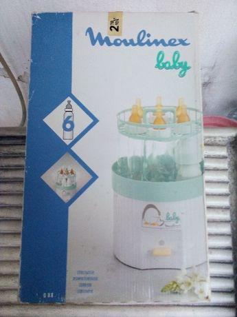 Esterilizador de 6 Biberões Moulinex Baby - Mod. Q88