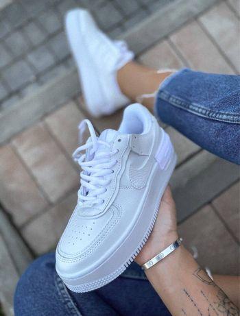 Кроссовки Nike Air Force Shadow White 36-41 / Найк Аир Форс