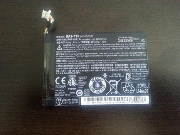 Bateria original e nova acer iconia b1-710