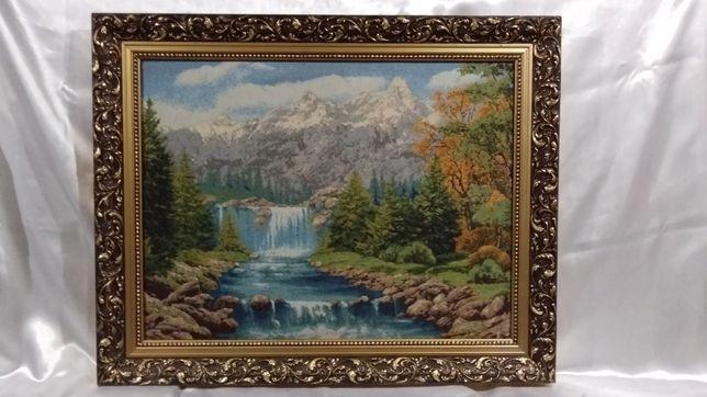 """Картина гобелен """"Водопад"""""""