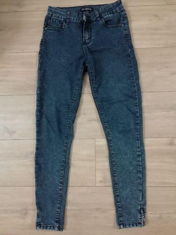 Spodnie jeansy z suwakami rozmiar M