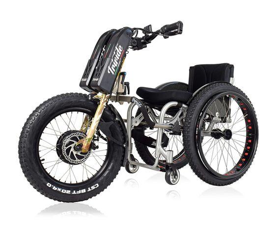 Dispositivo Mobilidade para Cadeira Rodas TRIRIDE T-Rocks