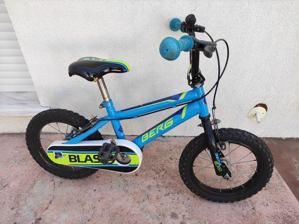 Bicicleta criança Berg Blast 141 - roda 14