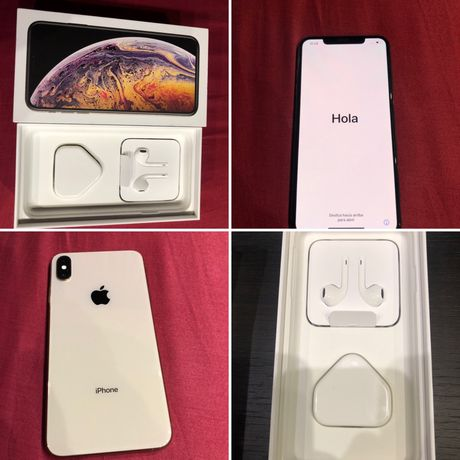 Iphone Xs Max , Gold, 512GB Dual Sim