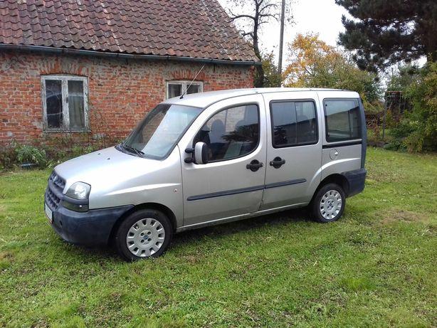 Fiat Doblo I 2002 1.6v + gaz