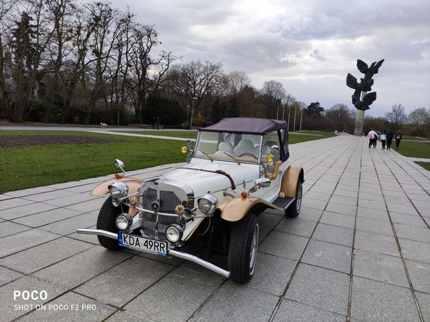 Auto do ślubu. Mercedes gazelle 1930 rok