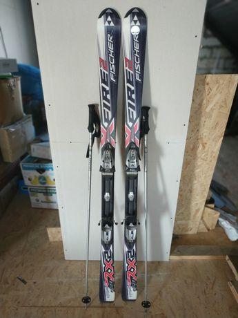 Горные лыжи Fisher Fire RX2 с креплениями