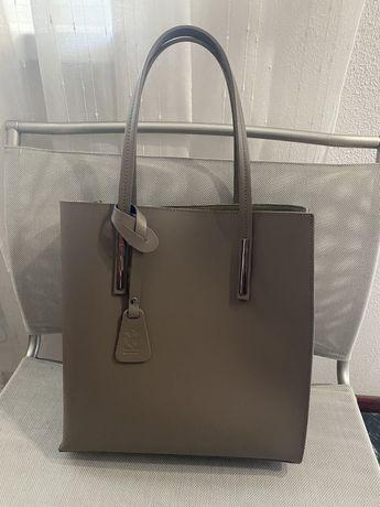 Продам кожаную сумку Vera Pelie