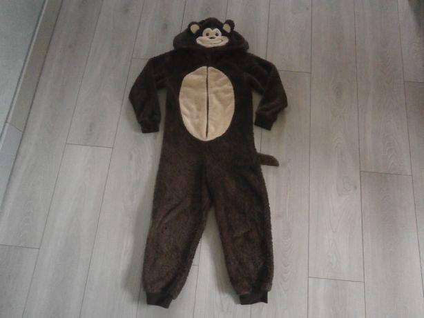 Małpka-George-Przebranie-Piżama-CIEPŁE! Zima!7-9 lat!