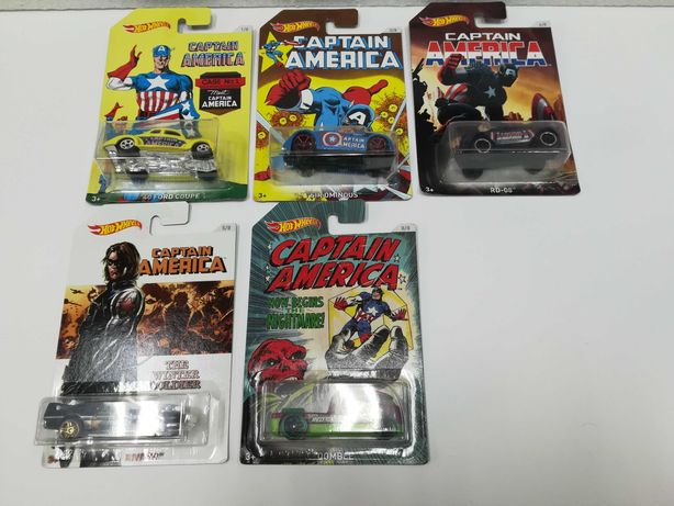 Hot Wheels - Captain America