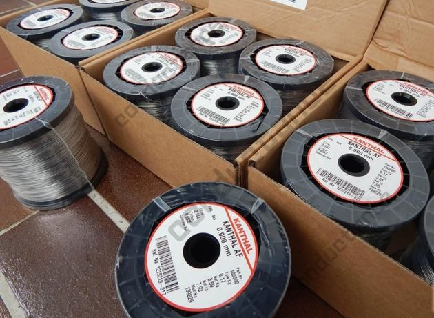 Drut oporowy Kanthal D lub A1 do styropianu +10% gratis od 0,1do 1,2mm