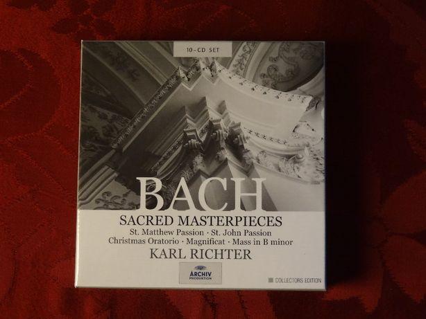 BACH, J. S. – Karl Richter - Sacred Masterpieces   Archiv P. – 10 CD's