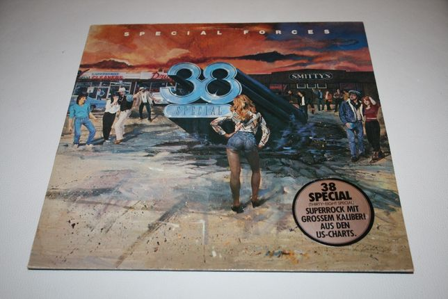 LP płyta winyl 38 Special - Special Forces A&M Records