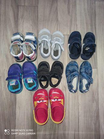 Обувь на мальчика 20рр-25рр 7 пар за 200 грн